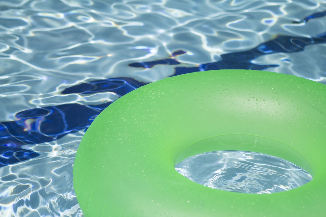 inflatable water slides are a cheap and easy way to have some fun